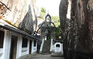 Aluvihara Rock Temple - 11.2Km