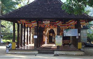 The Ancient Devala at kandy - 15Km